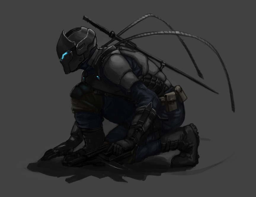 Quck Blade Cyber_Ninja_by_shanku