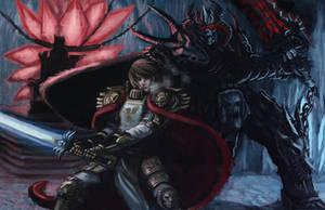 Battle of Hope and Doom by shanku
