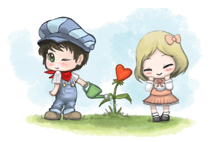 Heart Flower by shanku
