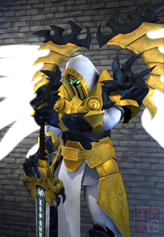 Avatar of Judgement 3D - 3-4 by shanku