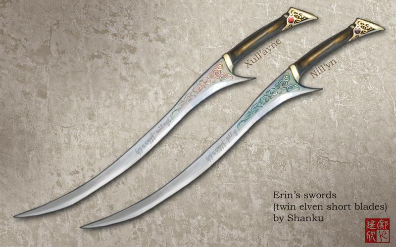 Erin Swords by shanku