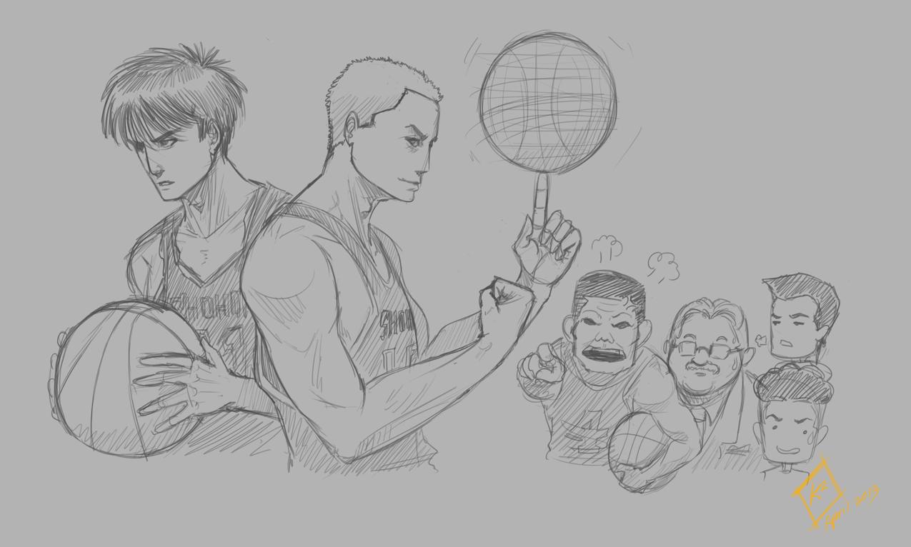 Slam Dunk - Sketch by shanku