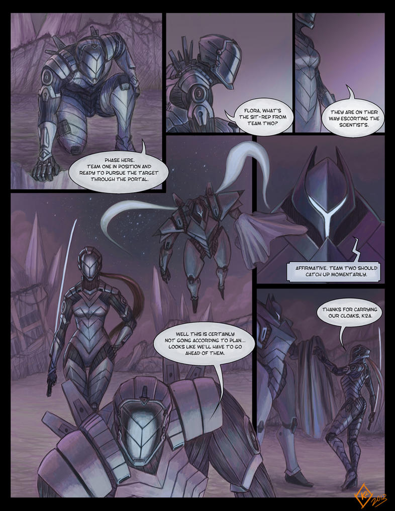 Cyborg Ninjas - Page 1 by shanku