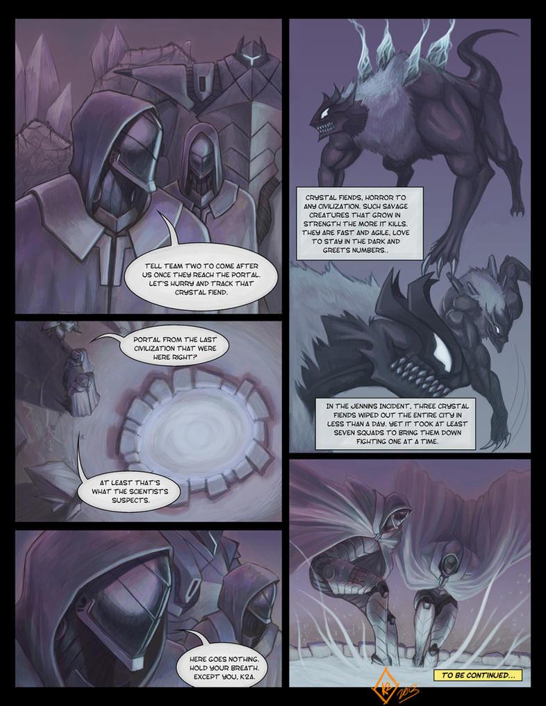 Cyborg Ninjas - Page 2 by shanku
