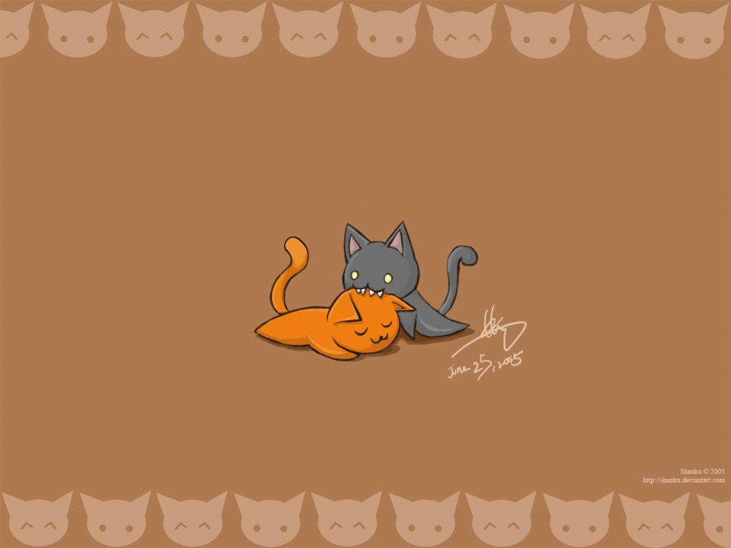 Kitty Cats by shanku