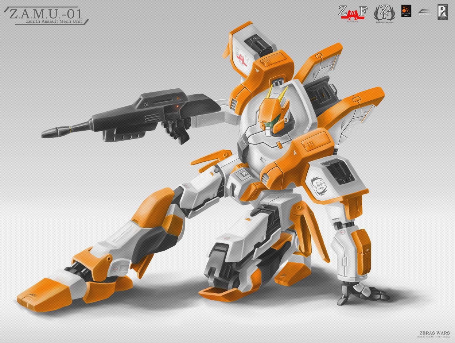 Z.A.M.U. - 01 by shanku