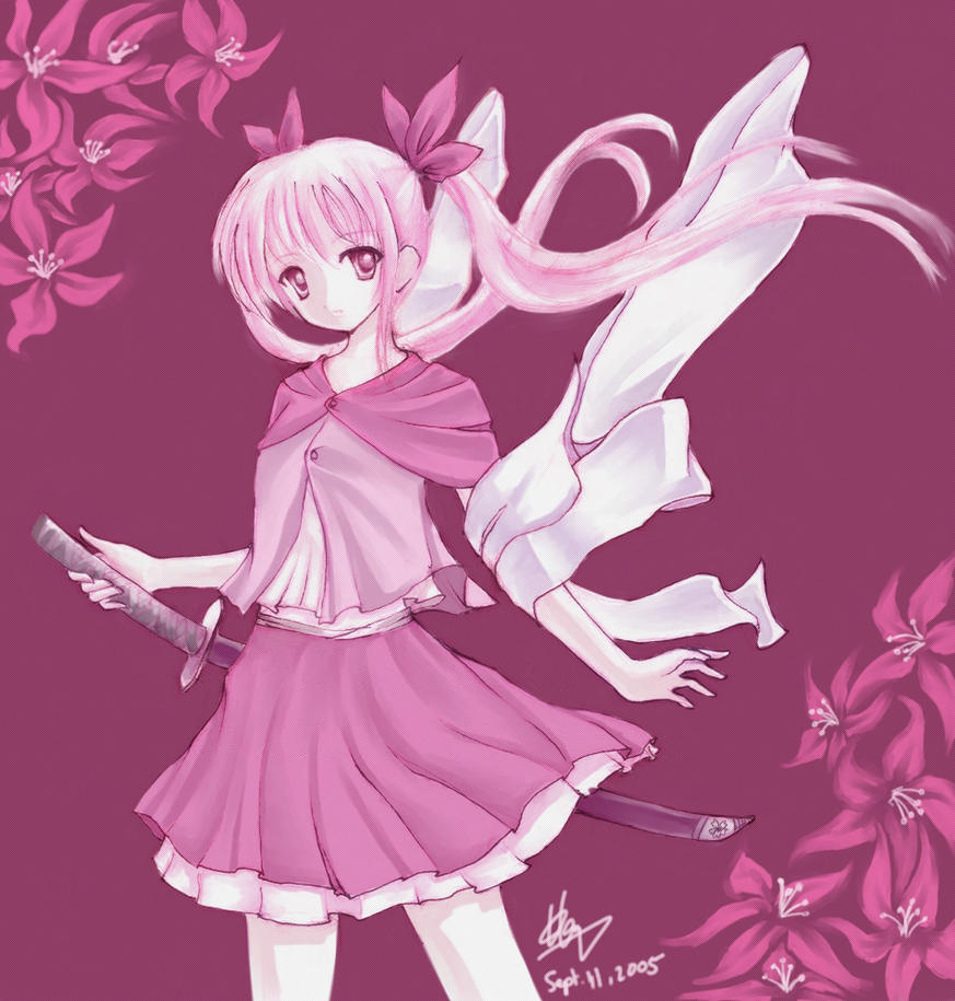 Swordie Girl 'Collab' by shanku