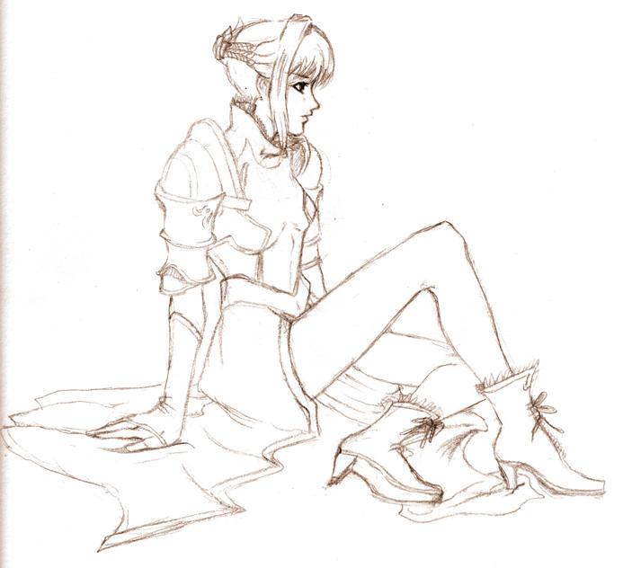 Eris 'Sketch' by shanku