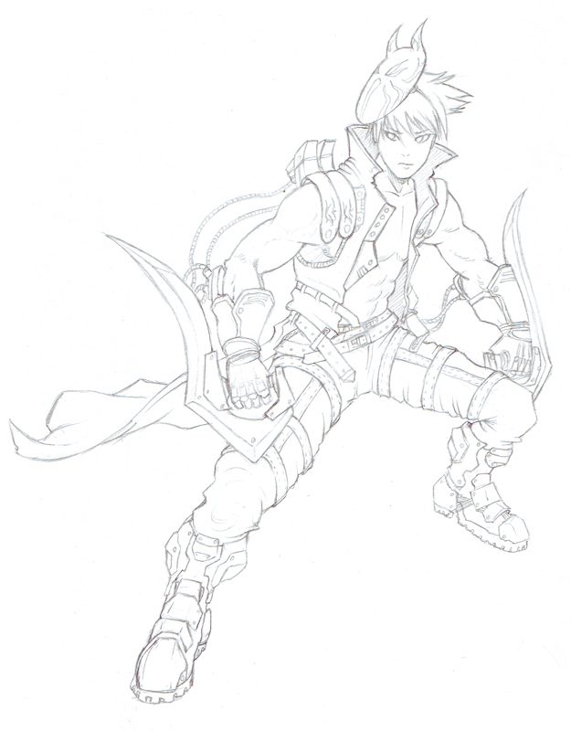 DeviAssassin 'Sketch' by shanku