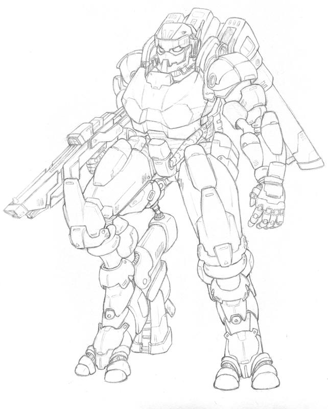 MT AS-1 'Sketch' by shanku