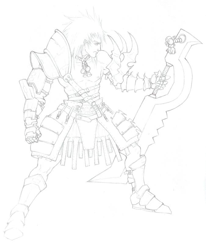 Fighter Guy by shanku