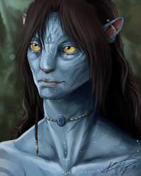Kahm Na'vi - I see you by DevilsHaven