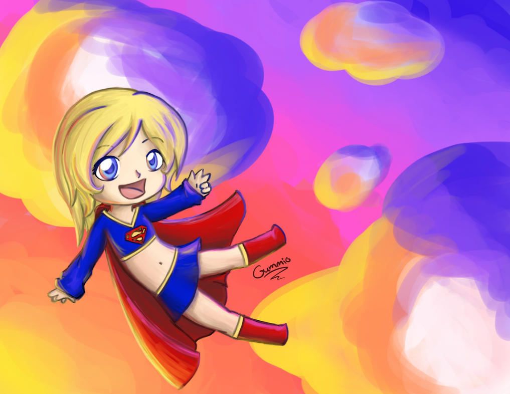 Supergirl by gummigator