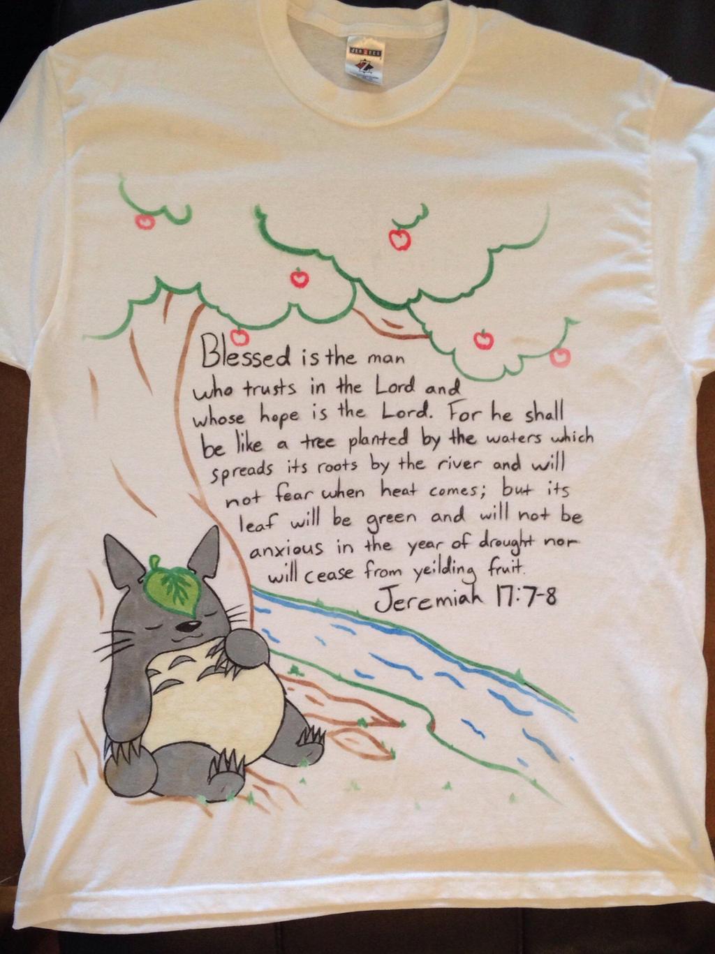 Totoro shirt by gummigator