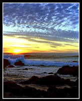 Sunset in Cambria by TomasGarcia