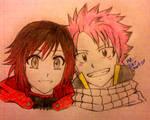 Ruby Rose x Natsu Dragneel