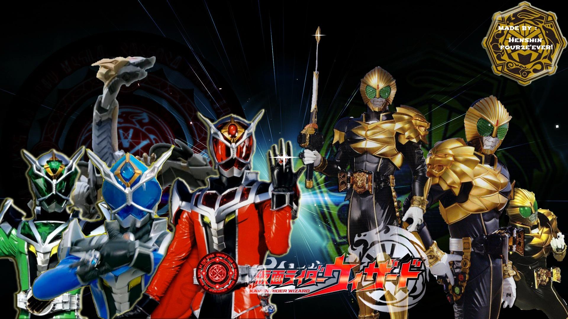 Kamen Rider Wizard Wallpaper