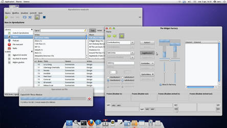 Cupertino Linux Desktop by Nero44
