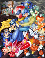 Mega Man 3 by yuureikun