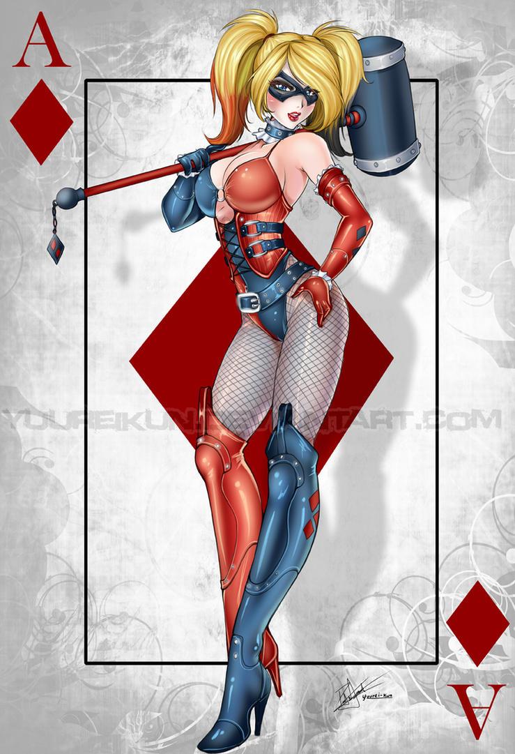 Harley Quinn by yuureikun
