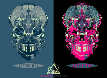 DOCTOR WHO SHIRTS: by CoeyKuhn