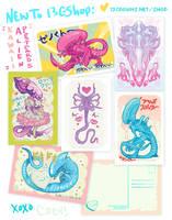 Xenomorph Postcards