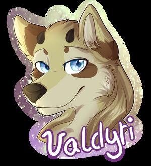 .:Commission:. Valdyri Badge