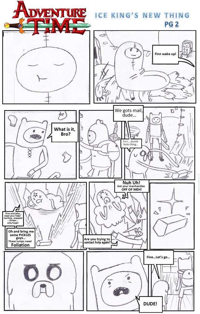 Adventure Time Webcomic ~ pg. 2 by adam1875