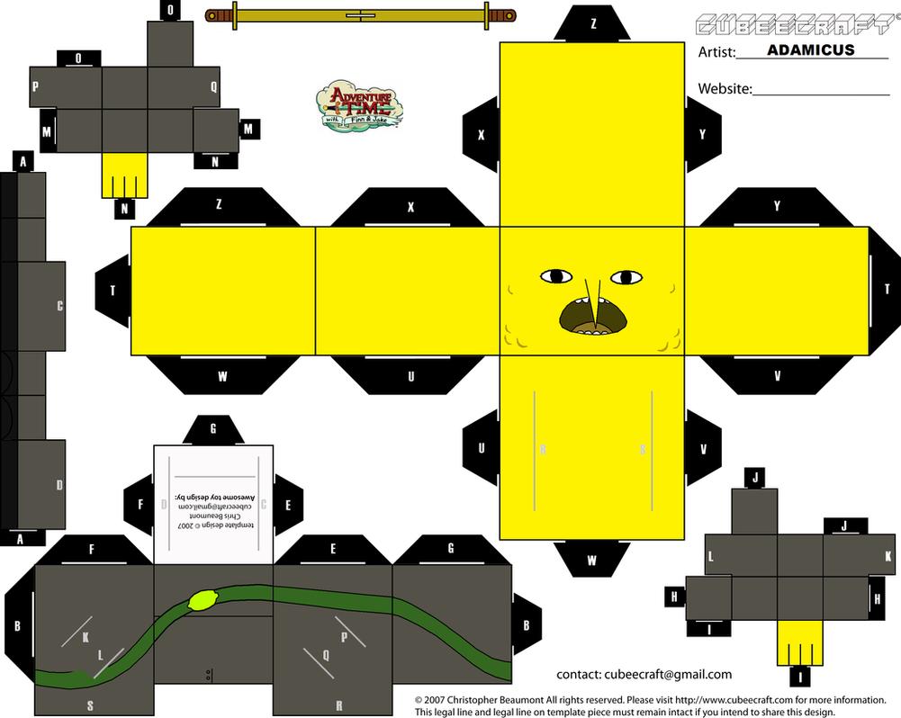 Cubeecraft AT - Lemongrab by adam1875 on DeviantArt