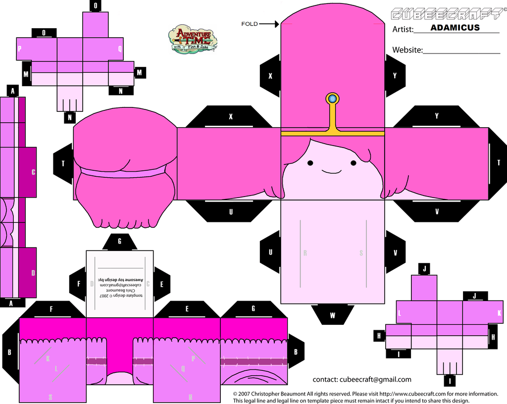 Images For > Cubeecraft Adventure Time Fionna