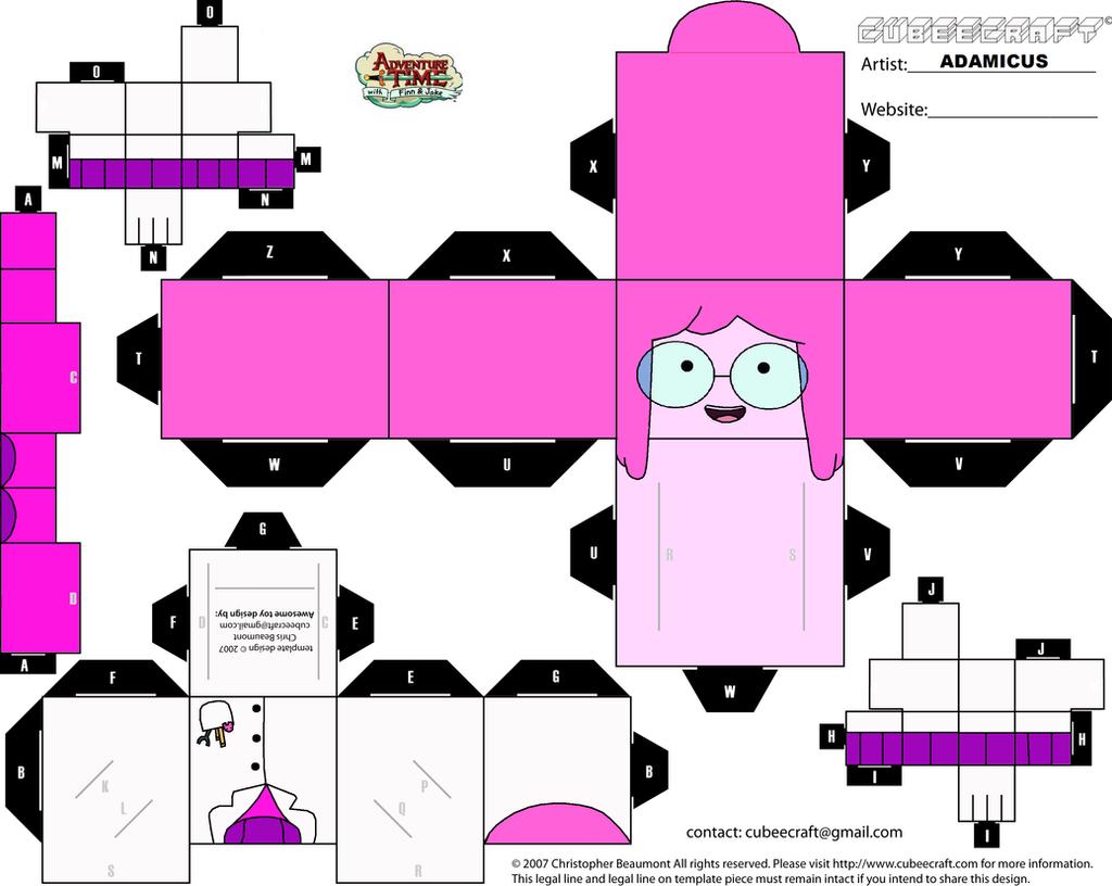 Cubeecraft AT - Marceline #2 by adam1875 on DeviantArt