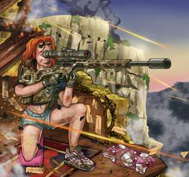 Sniper Girl by mayenIII
