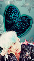 BTS_SUGA #LOCKSCREEN/WALLPAPER by YUYO8812