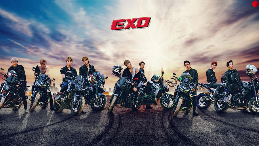EXO TEMPO(3) #WALLPAPER by YUYO8812 ...