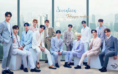SEVENTEEN HAPPY ENDING #WALLPAPER by YUYO8812