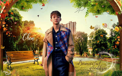 EXO CHEN BEAUTIFUL GOODBYE #WALLPAPER by YUYO8812