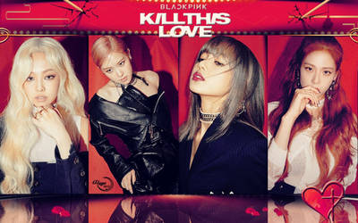BLACKPINK KILL THIS LOVE #WALLPAPER by YUYO8812