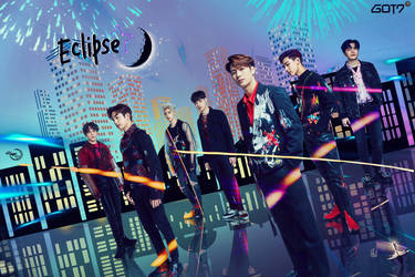 GOT7 ECLIPSE #WALLPAPER by YUYO8812
