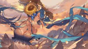 Sunflower Miku