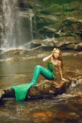 The Mermaid by babyrubydoll