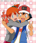 PKM :: Ash and Misty :: Hello GALAR!