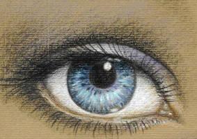 Blue eye by Eyeart
