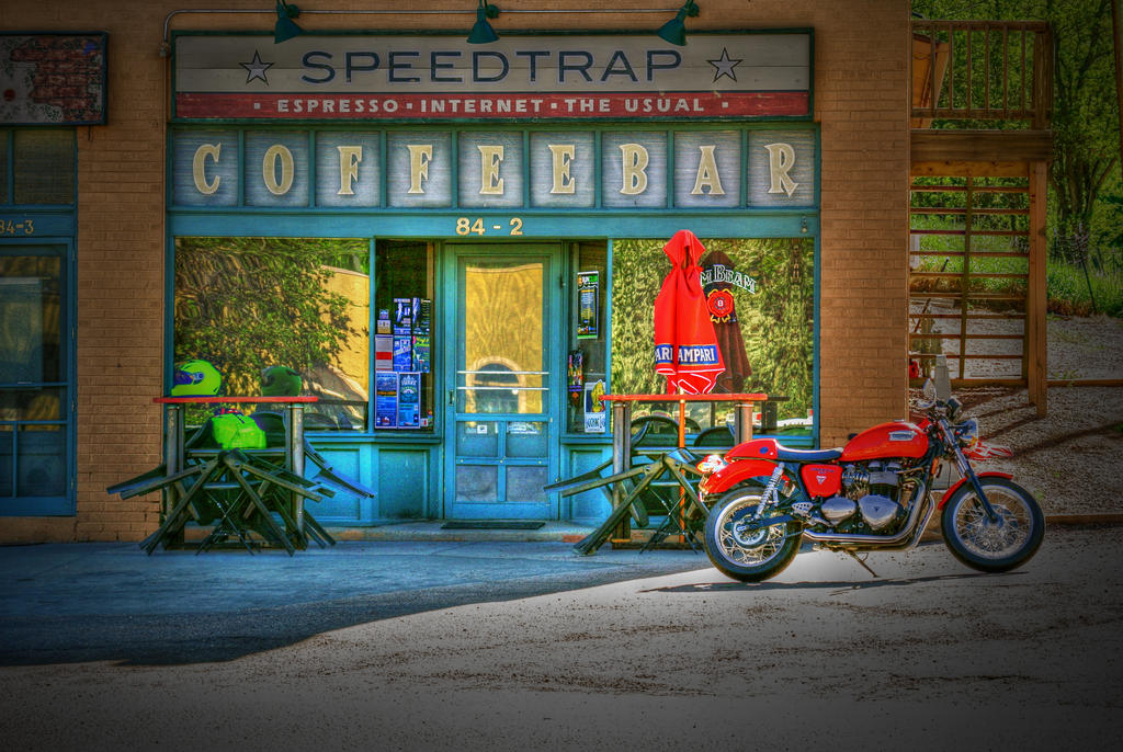 cafe racer at coffee shopcoloradogreenchile on deviantart