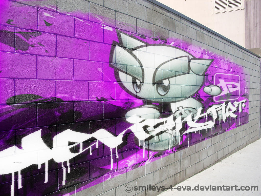 dA Wall Graffiti by smileys-4-eva