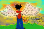Spread my wings REDRAW by smileys-4-eva