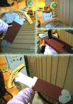 Legend of Zelda: Four Swords Green Link Sword prop