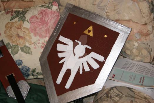 Legend of Zelda:Four Swords Green Link Shield prop