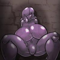 Monstergirls: Slime by LeftHand-Black
