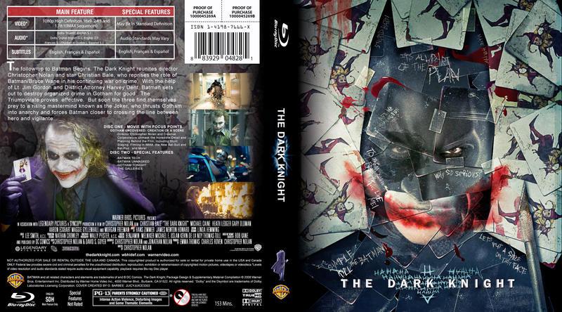 Dark Knight Blu-Ray Cover by juicyjuice3303