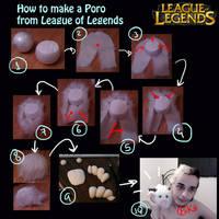 Tutorial - Poro from League of Legends by Pokeeeeee